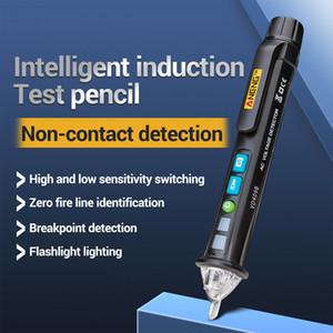 LED testeur sans contact du détecteur de tension AC testeur compteur 12V-1000V Pen fil Tracker Scanmarker Crcuit disjoncteur Finder