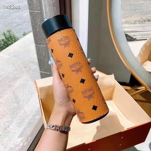 Garrafa Classics-M Água Moda Copos Novas famosos pattren aço inoxidável copos Garrafa de vácuo Caneca Thermos Cup térmica de café