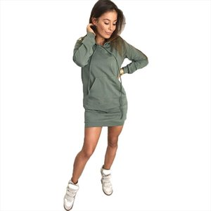 Women Ladies Hoody Sweatshirt Sexy Hooded Jumper Ladies Autumn Winter Warm Long Sleeve Sweatshirt Hoodies Jumper Winter Dress