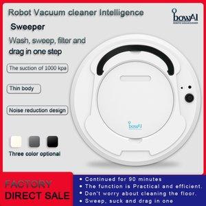 1800Pa 다기능 스마트 플로어 클리너 3에서 1 자동 충전식 스마트 로봇 건식 습식 연소 진공 청소 무료 DHL을 연소