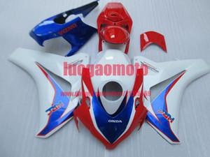 Injection mold Fairing kit for red white blue HONDA CBR1000RR 08 09 10 11 CBR 1000RR 2008 2009 2010 2011 ABS Fairings bodywork cowlings+gift
