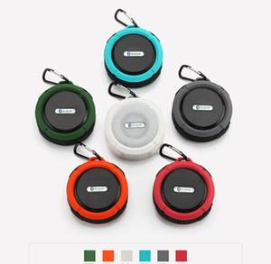 Outdoor Wireless Speaker Bluetooth 4.1 Stereo Portable Speakers Built-in Mic Shock Resistance IPX4 Waterproof Louderspeaker R20