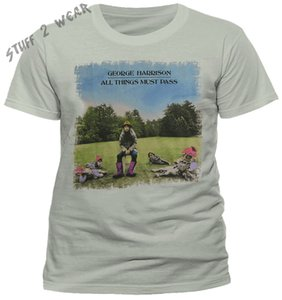 george harrison all things must pass t shirt official cool casual pride t shirt men unisex new fashion tshirt free shipping