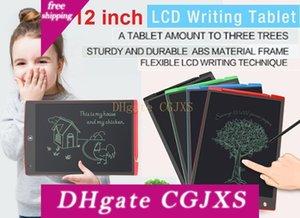 Горячие Lcd дощечка 12-дюймовая цифровая мнемодоска Blackboard почерк колодка с модернизированной Pen Для взрослых Детей Управления Drawing