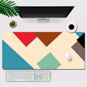 Tapis de souris personnalisés Grand pad XXL Splice Otaku Gaming Mouse Gamer Accessoires de verrouillage bord Ordinateur de bureau en caoutchouc Clavier Desk Pad