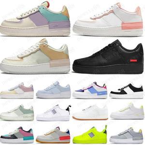 Hot vender Homens Mulheres Plataforma Casual Sneakers Skate Shoes baixa Preto Utility Vermelho Branco Linho alta Corte de alta qualidade sapatos Mens instrutor Sports