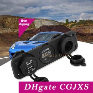 12v Usb 2 .1a 1a Dual--leisten Auto -Ette Lighter Charger Splitter-Adapter Digital Display Dual-Soc -Kets