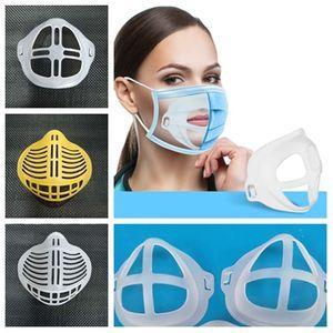 4 Styles Parantez Koruma Destek İçin Artırıcı Tutucu Aksesuar T2I51392 sorunsuz Nefes Maske Maske 3D