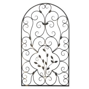 "US Instock 41.5"" Semi-Circular Retro Decorative Large Arches Backdrops Decor Spanish Arch Wall Art Victorian Style Iron Ornament"