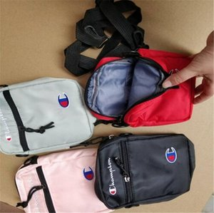 Moda de nylon Crossbody paquetes de Fanny bolso del mensajero de la honda de la Champions Diseño bolsas de hombro bolsa de viaje de compras de la correa B383 Packs Teléfono Monedero