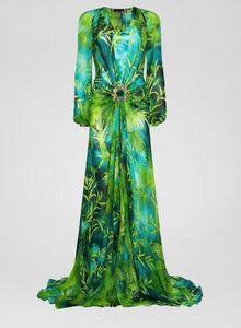 Vestido de camisa de la camisa de la selva de la selva de las niñas de la selva de las mujeres de la gama alta de las mujeres de las mangas largas del cuello en v 2020