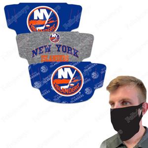 New York Islanders WinCraft Adult Face Covering 3-Pack Dust Wind UV Sun Neck Gaiter Tube Headwear Motorcycle Cycling Riding Running Headba