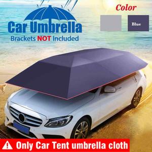 4.2x2.1M Außen Auto Fahrzeug Zelt Auto Regenschirm Sonnenschutz-Abdeckung Oxford Cloth Polyester schützt, ohne Halterung Zubehör