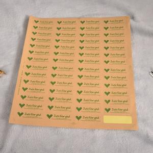 Yapışkan etiket sanatsal Kraft kağıdı Yapışkan Kraft kağıt etiket mathilyn ayçiçeği yapay gül çiçek