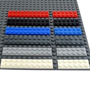 Dots 2x6 2x8 2x10 Dünne Figuren Bricks Multiple Color Educational Kreative Small Size Diy Bulk-gesetzte Bausteine Classic Parts qylIIv