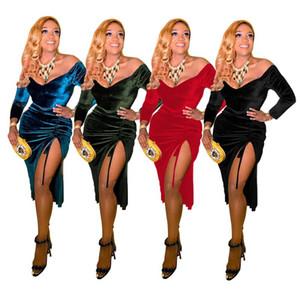 Free shipping 2020 new ladies dress fashion ladiesFA7074