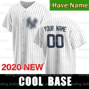 Yankees Jerseys 2 Derek Jeter 99 Aaron Judge Gerrit Cole 2020 2021 New Personalizzato Don Mattingly Stanton Ruth York Maglie da baseball