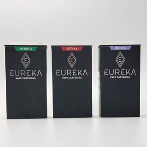 Lo nuevo en la prensa Consejos Eureka Vape cartuchos Embalaje Vacío 0,8 ml vaporizador 510 carros de cerámica de la bobina 4 * 2.0mm Grueso aceite atomizadores