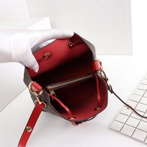 Bucket bag new shoulder bags leather bucket bag women famous bra design handbags high quality Cross Body top quality design handbags