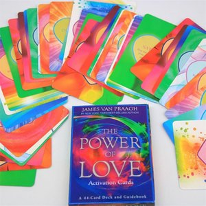 Aşk 44 Oyun Power Board Güverte Oynama Aktivasyon Kart Kartları Kehanet BTQnX mycutebaby007 Of Parti Oracle Tarot Aile
