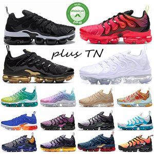 2020 Tn plus Sneaker géométrique actif Esprit Fuchsia Teal Chaussures de course Coussin Designer Shoe Vert Hommes Femmes Entraîneur 36-45