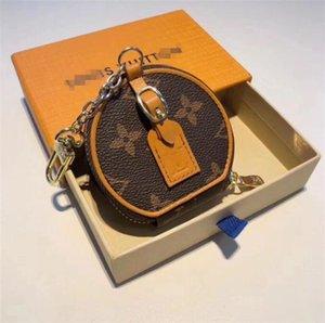 мешок Дизайнер мужской брелок кошелек подвеска Сумки Автомобили Цепи Брелоки для женщин Подарки женщин мышь Кожа Брелки с коробкой