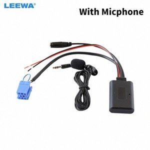 Leewa 5set Araç Wireless Aux-in Bluetooth Adaptörü Modülü Ses Alıcı Smart 450 CD / DVD Sunucu AUX Kablo # CA6429 1Fsa # için