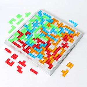 Blokus Strateji oyunu Tetris 2 Oyuncu ve 4 Oyuncu Sürüm Aile Kurulu oyunu