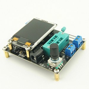 Ruso mega328 / Частота LCD GM328A Транзистор тестер Диод емкости ESR напряжения метр PWM Прямоугольная волна генератор сигналов 7x9H #