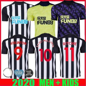 20 21 Newcastle RITCHIE SOCCER JERSEYS HOME weg dritt UNITED JOELINTO 2020 2021 Haus LASCELLES Shelvey FOOTBALL YEDLIN Shirts Männer Kinder-Kit