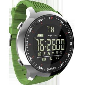 EX18 스마트 시계 방수 빛난 보수계 전화 메시지 야외 남성 Smartwatches