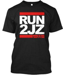 Мужчины Футболка Run 2JZ Auto Racing Рубашка Женщины T-Shirt