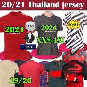 Tailândia FC manchester Rashford B. FERNANDES Pogba Futebol MARCIAIS jérsei de futebol camisas unidos UTD 20 21 uniformes homem + crianças kit