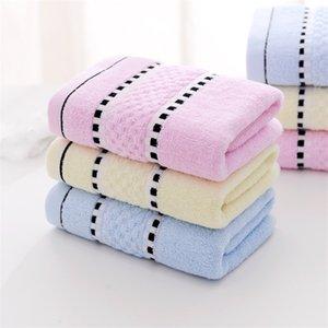 Frete grátis Atacado Household Face Wash algodão macio Grosso absorvente Adulto Toalha 110g Face Wash Towel personalizado