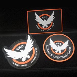 cappio blocco La divisione SHD gancio distintivo / armb PVC nastro adesivo privo di lavaggio blocco Badge La divisione SHD distintivo / bracciale a strappo