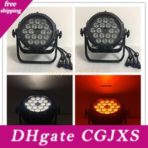 4 Pieces 18x12w Rgbw 4in1 Led Par 64 Led Par Cans Ip65 Par Led Rgbw 4in1