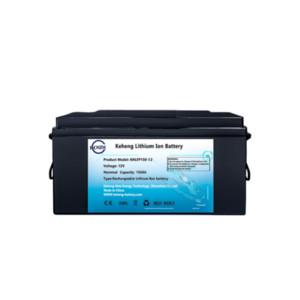 preço de fábrica baterias li ion recarregável lifepo4 DC bateria de lítio 12v 150AH 200AH para iate RV sistema solar + 20A