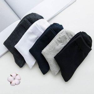 business casual Ordinary cor sólida meias metade da panturrilha homens verão meias Four Seasons meias regulares respirável Lnskx