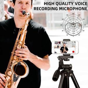 Saxofón inalámbrico Clip Sistema de micrófono de instrumentos musicales para saxofón trompeta Sax cuerno de la tuba flauta clarinete de tuberías