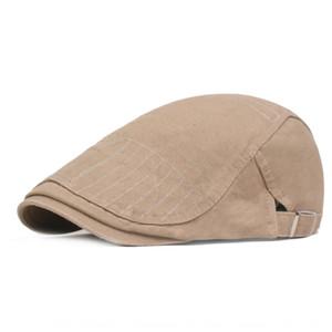 Thin cap berretto a punta Beret cappello in avanti per il prossimo anno la protezione alzata cappello gioventù letteraria