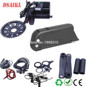 Bafang / 8Fun BBSHD 48V 1000W meados de conduzir kit de motor central com 52V 14Ah 17.5Ah GA células garrafa bateria Ebike