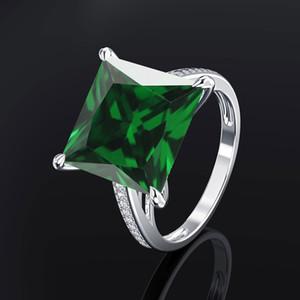 Edelsteine Amethyst Silber-Ring-blauer Saphir-Ring Silber 925 Schmuck Aquamarin Ringe für Frauen Verlobungsringe