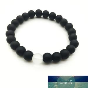Hot sale New fashion natural stone Round Shape Beads Lava Stone chakra healing Beaded Charm Bracelets Jewelry Gift