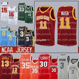 2020 77 -Ncaa Lebron Durant 12 Ja 23 Ncaa Williamson Zion Michael Morant Doncic Iverson Curry Butler Harden College Basketball Jerseys