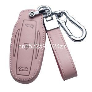 key case for Tesla model x model 3 model s Smart Key Keyless Remote Entry Fob Case Key Chain