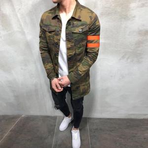 Yeni Erkek Kamuflaj Askeri İlkbahar Sonbahar Kargo Artı Boyutu S-3XL Casual Adam Ceketler Ordu Giysileri Marka