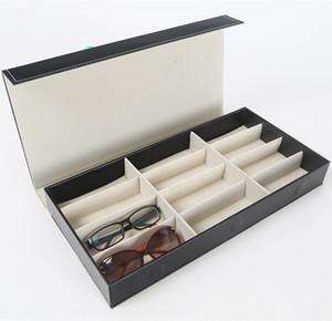 Aufbewahrungsbox 12 Raster / sun Fall Sonnen Fall Anzeigebox / Brille Sammelbox / Sonnenbrillen-Box / Glaskasten