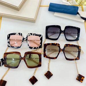2020 Популярные классические модные очки Polycarbonate лист прямоугольные рамки солнцезащитные очки мужчины и женские дизайнерские солнцезащитные очки очки с коробкой