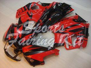 Carenados para CBR600 F3 1995-98 Negro Rojo Carrocería CBR600 F3 1997 del carenado del ABS CBR 600 F3 1996