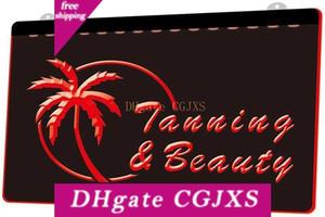 Ls1644 0 Tanning Schönheitssalon Tan Rgb Multiple Color Fern 3D-Steuerung Stich Led Neon-Licht-Zeichen-Shop Bar Pub-Club
